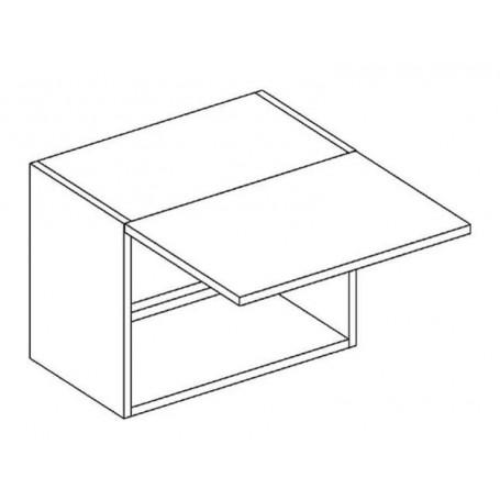 BLANKA överskåp horisontalt till fläkt - 50x36 cm