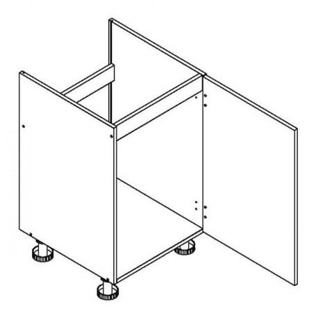 BONO bänkskåp för diskbänk - 50x82 cm