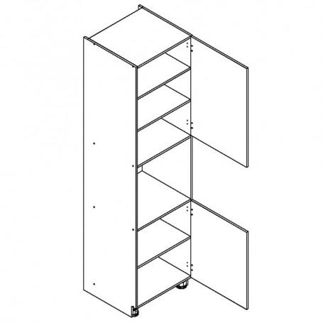 BONO högskåp för inbyggnadsugn - 60x213 cm