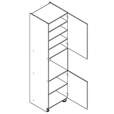 BONO högskåp för inbyggnadsugn - 60x233 cm