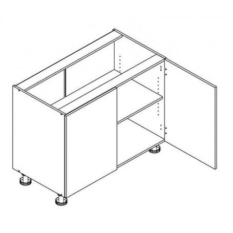 BONO bänkskåp - 90x82 cm