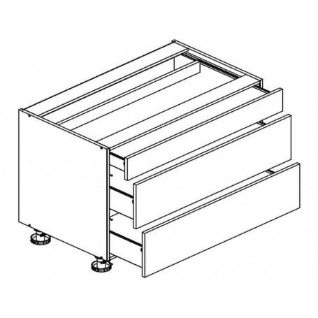 BONO bänkskåp med en låda - 90x82 cm