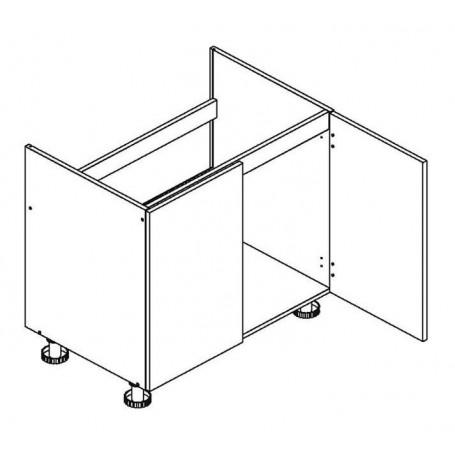 BONO bänkskåp för diskbänk - 90x82 cm