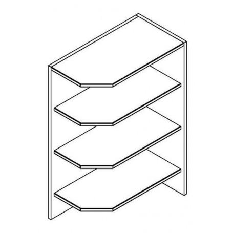 Mia Picard bänkskåp utan dörrar - 29x82 cm