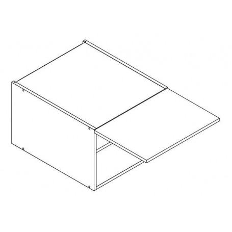 BONO överskåp horisontalt till fläkt med 56 cm djup - 50x36 cm