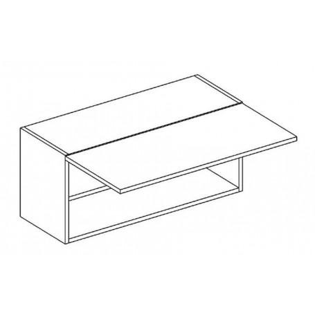 BONO överskåp horisontalt till spiskåpa - 80x36 cm