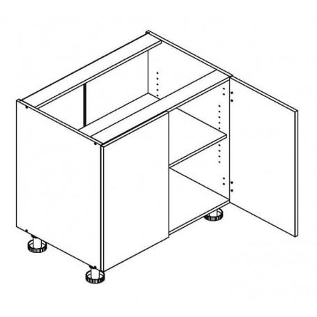 BONO bänkskåp - 80x82 cm