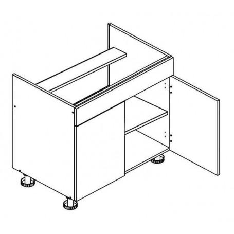BONO bänkskåp för häll - 80x82 cm