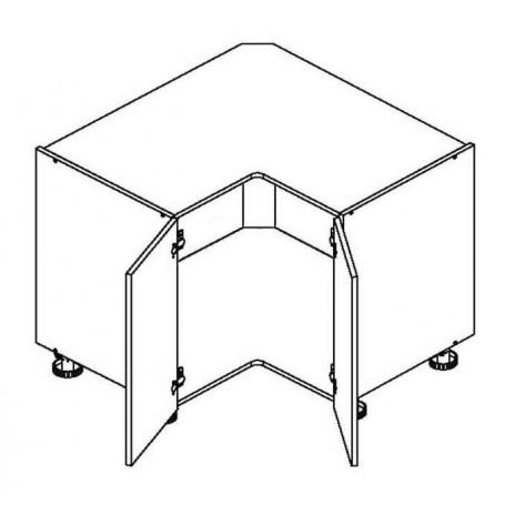 BONO bänkhörnskåp för diskbänk - DRP ZL P/L