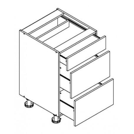 BONO bänkskåpmed 3 lådor - 45x82 cm