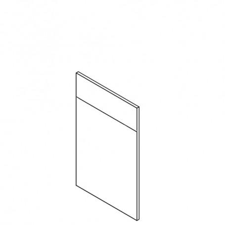 Front till diskmaskin (dold kontrollpanel) - 45x71 cm