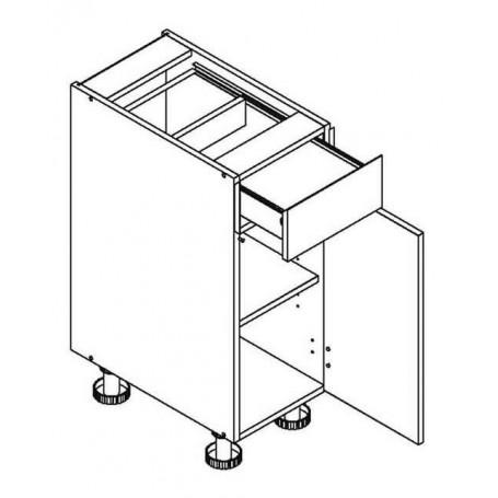 Mia Picard bänkskåp med 1 låda - 30x82 cm