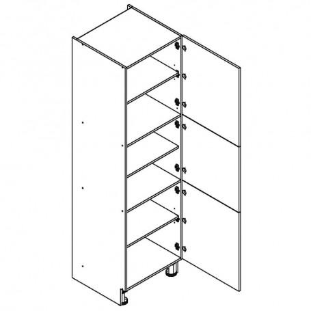 Oliwiahögskåp med 3 dörrar - 60x213 cm