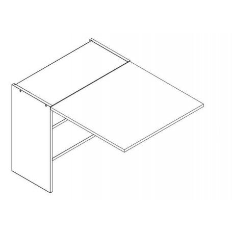 BONO överskåp horisontalt till inbyggd spiskåpa - 50x52 cm