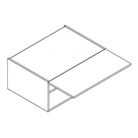 BONO överskåp horisontalt till spiskåpa med 56 cm djup - 80x36 cm