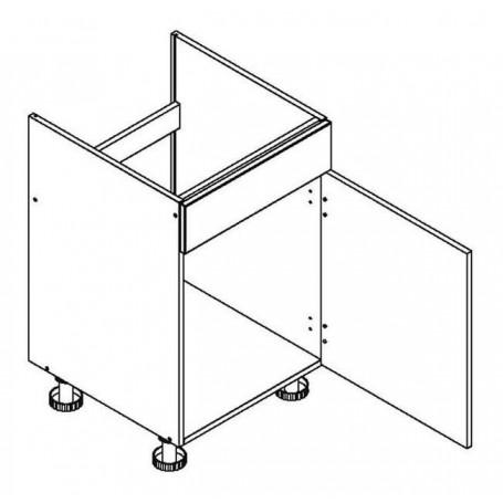 BLANKA bänkskåp för diskbänk - 60x82 cm