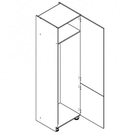 Oliwiahögskåp för kyl/frys med 2 dörrar - 60x233 cm