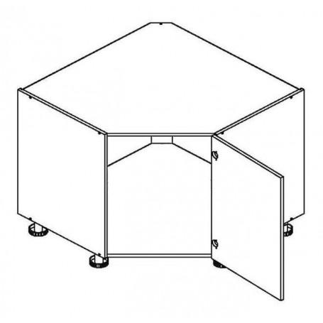 BONO bänkhörnskåp för diskbänk - DRP ZL SKOS P/L