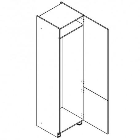 Oliwiahögskåp för kyl/frys med 2 dörrar - 40x213 cm