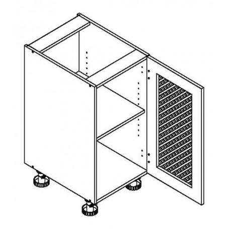 MONIUSZKO bänkskåp - 40x82 cm