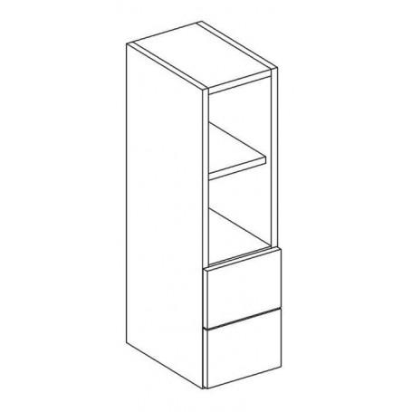 MONIUSZKO väggskåp utan dörr med 1 låda - 20x72 cm