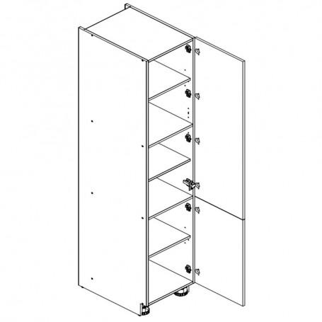 Oliwiahögskåp med 2 dörrar - 60x213 cm