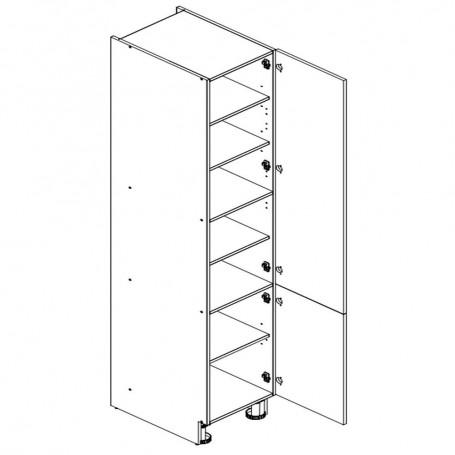 Oliwiahögskåp med 2 dörrar - 60x233 cm