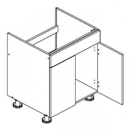 Oliwia bänkskåp för diskbänk - 60x82 cm