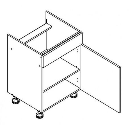 BONO bänkskåp för häll - 60x82 cm