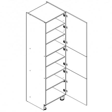 Oliwiahögskåp med 3 dörrar - 60x233 cm