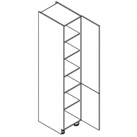 NERO högskåp med 2 dörrar - 40x218 cm