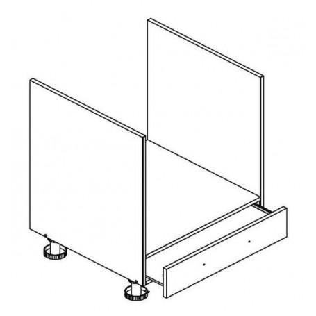 BONO bänkskåp för inbyggnadsugn - 60x82 cm