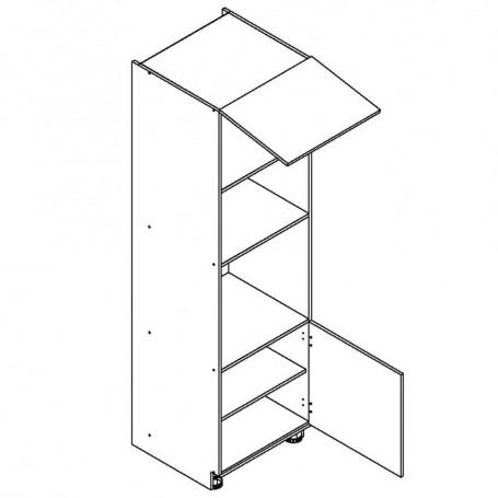 BONO bänkskåp för inbyggnadsugn och häll - D60PK MV/2133 P/L
