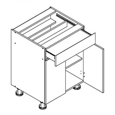 CLEO bänkskåp med 1 låda - 60x82 cm