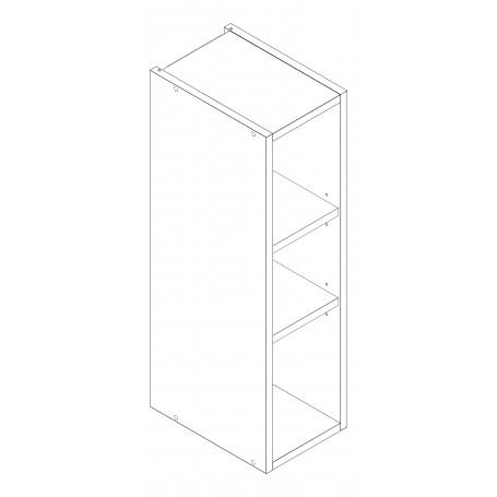 Mia Picard väggskåp utan dörrar - 20x72 cm
