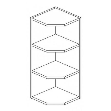 Mia Picard väggskåp utan dörrar - 29x72 cm